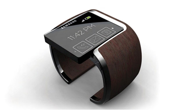 Samsung Smartwatch: patent shows flexible display