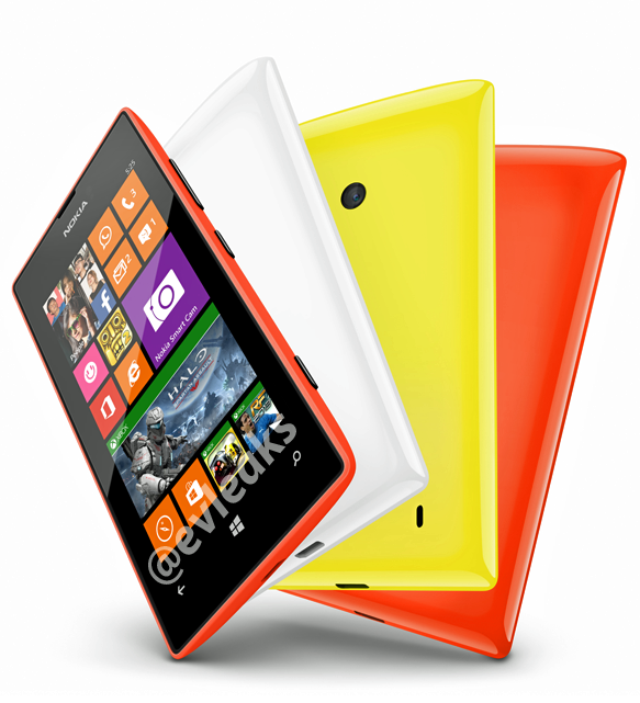 Nokia Lumia 525 press images and specification leaked ...