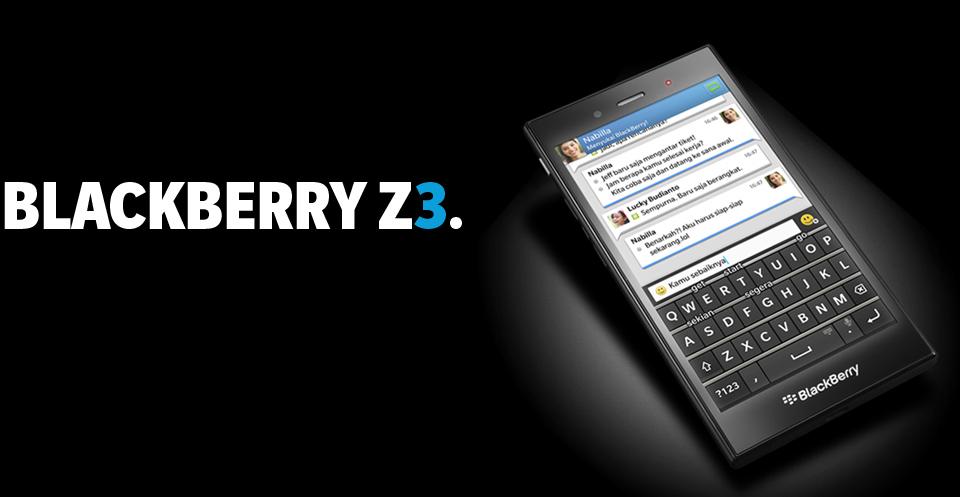 BlackBerry Z3 - Gizmobic