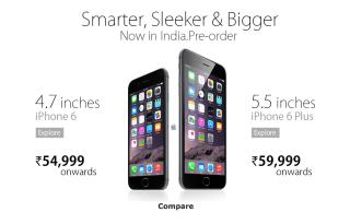 iphone 6 pre order india