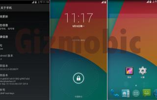 Xiaomi Mi3 Mi4 stock Android KitKat 4.4.4