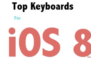 top ios8 keyboards